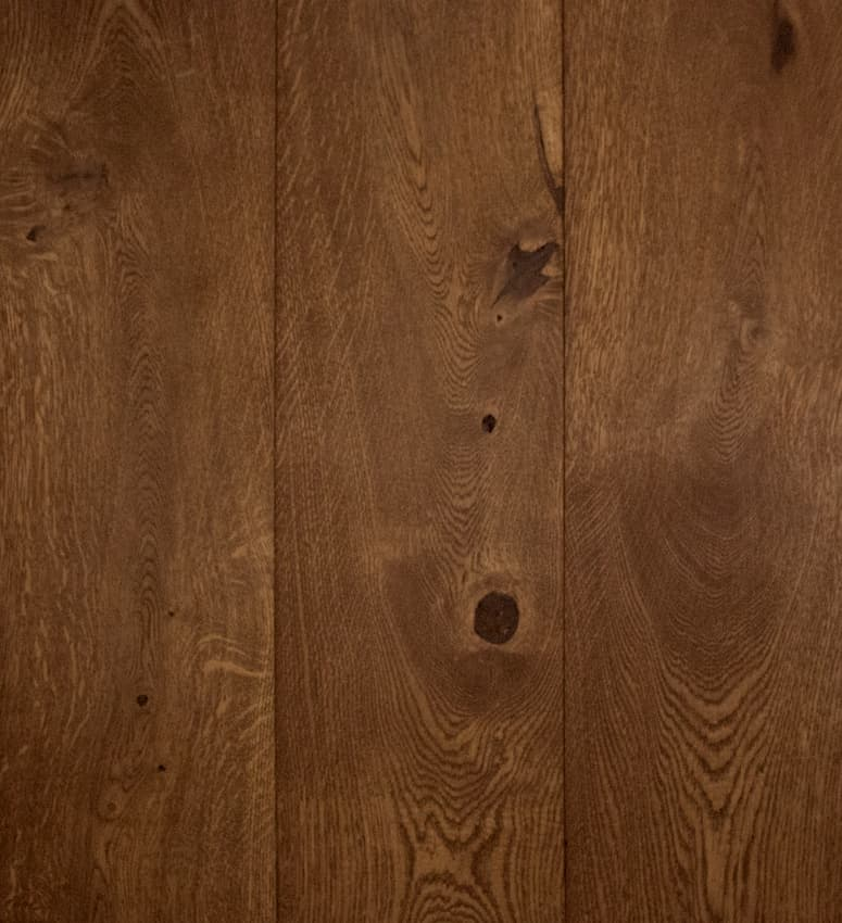 Eiken lamelparket vloer Dark Oak