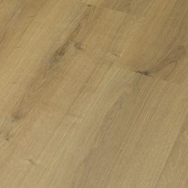 Laminaat vloer licht geborsteld eiken