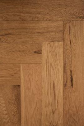 Eiken visgraat vloer Colonial (prijs incl. olie)