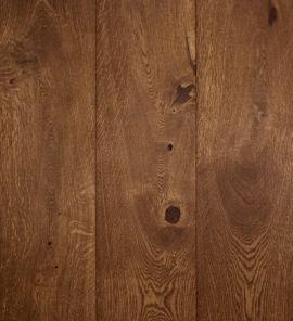Massief eiken vloer Walnut Dark (prijs incl. olie)