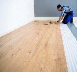 Installatie laminaat planken of tegels