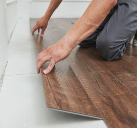 Installatie PVC planken of tegels