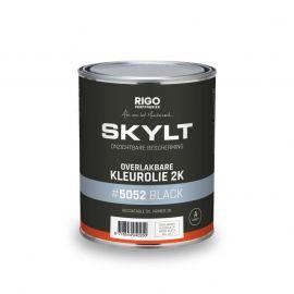 SKYLT Overlakbare Kleurolie 2K Black #5052 (1L)