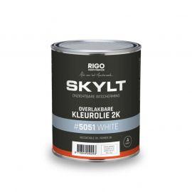 SKYLT Overlakbare Kleurolie 2K White #5051 (1L)